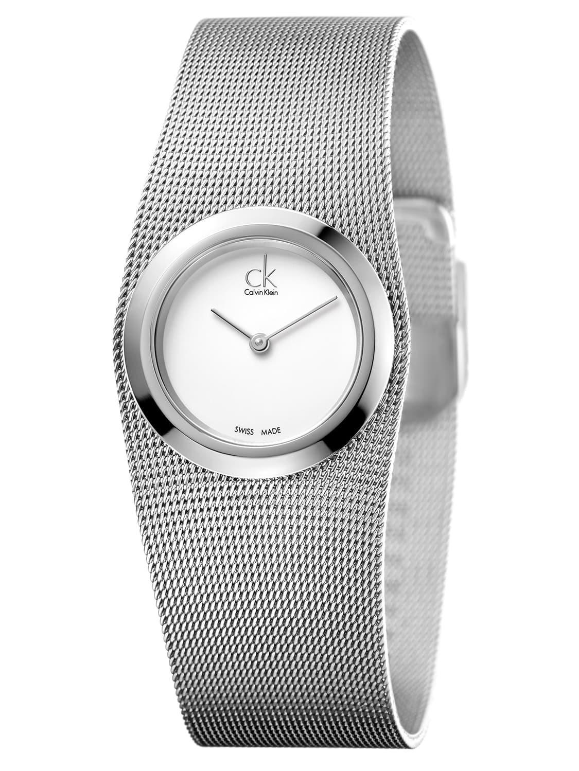 Women's Impulsive Stainless Steel Silver Swiss Quartz (Battery-Powered) Watch