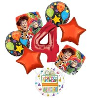 Toy Story 4th Birthday Party Supplies Balloon Bouquet Decorations
