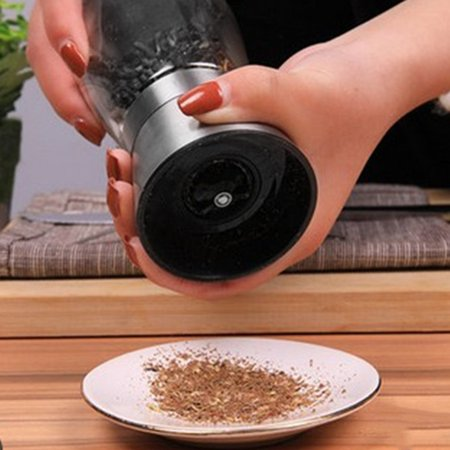 Stainless Steel Manual Portable Kitchen Salt Pepper Grinder Household Kitchen Tools Accessories for Cooking