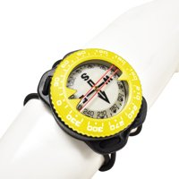 Scuba Choice Diving Deluxe Silicone Frame Bungee Mount Compass