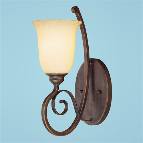 Millennium Lighting 1051-RBZ Chateau Wall Sconce Rubbed Bronze