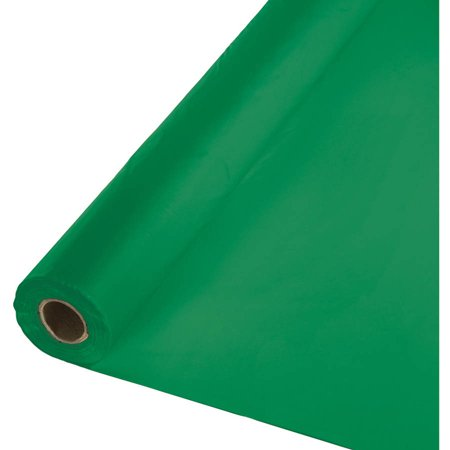 Emerald Green Banquet Table Roll