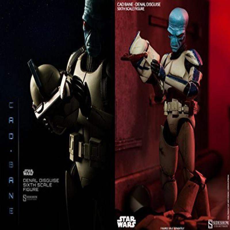 Sideshow Star Wars The Clone Wars Cad Bane in Denal Disgu...