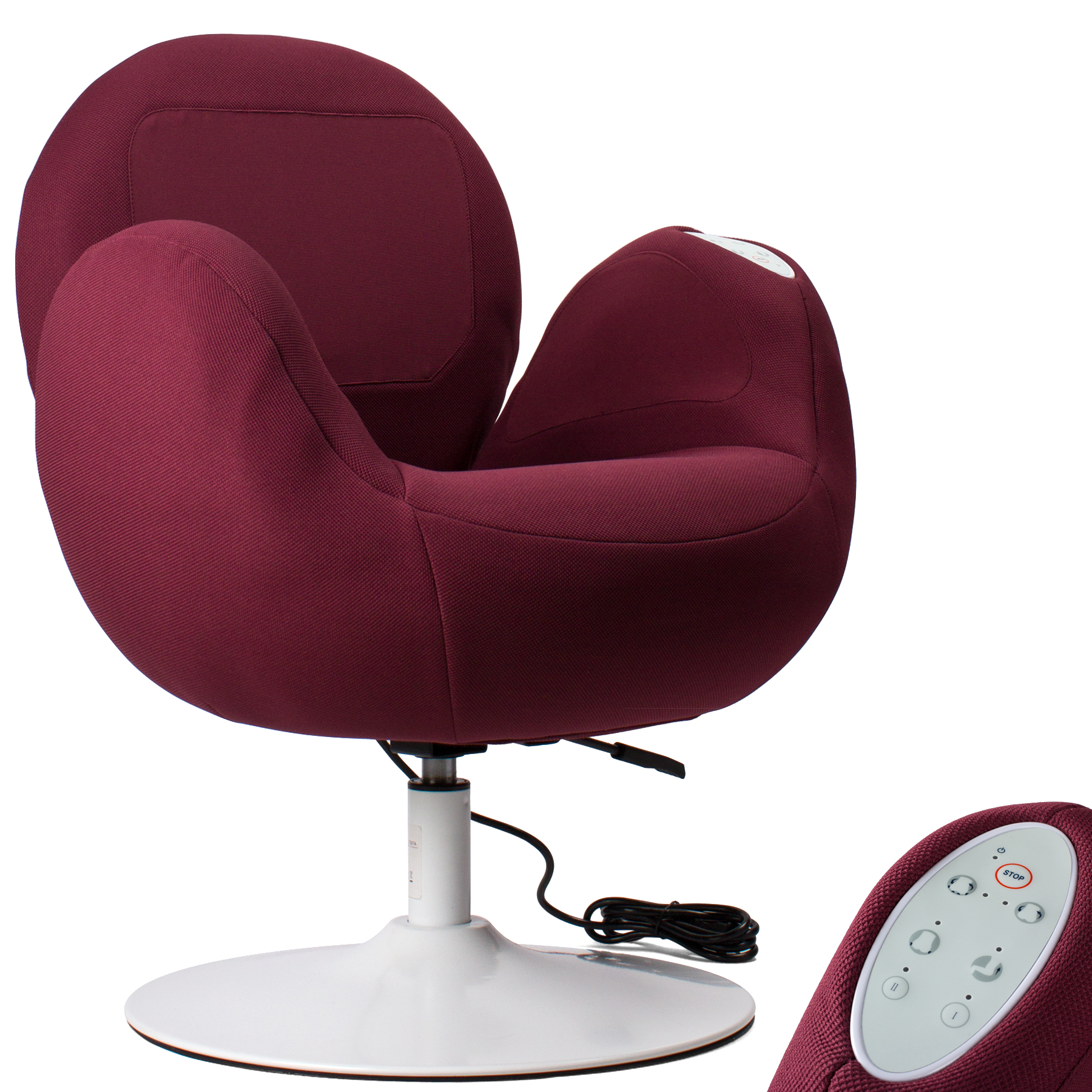 FRISBY Electric Air Pressure Compression Massage Armrest ...