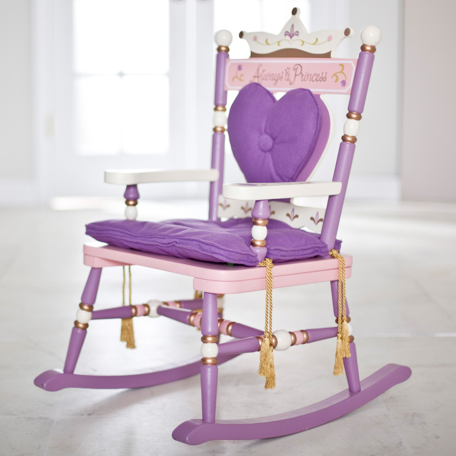 "Wildkin Royal Rocking Chair ""Princess"""