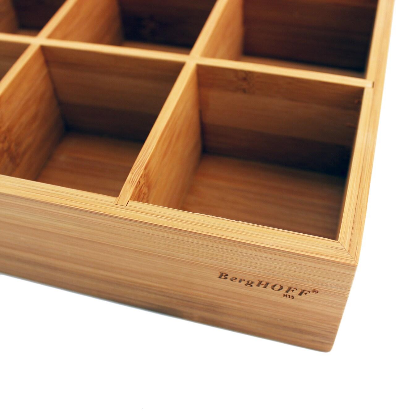 Berghoff Bamboo Tea Box Walmart Com Walmart Com