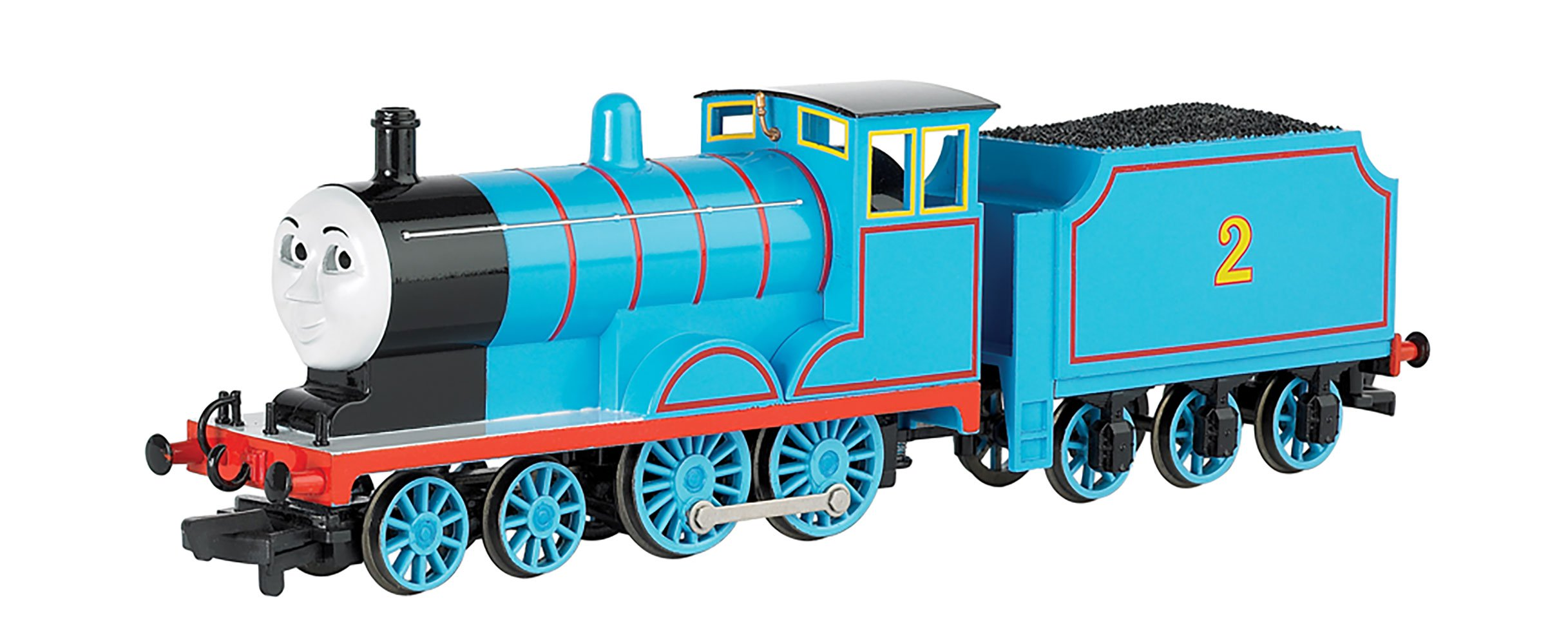 Bachmann Trains Thomas and Friends Edward Locomotive with Moving Eyes, HO Scale Train by Bachmann
