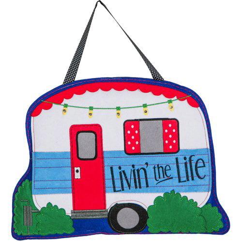 Evergreen Enterprises, Inc Livin the Life Door Hanger