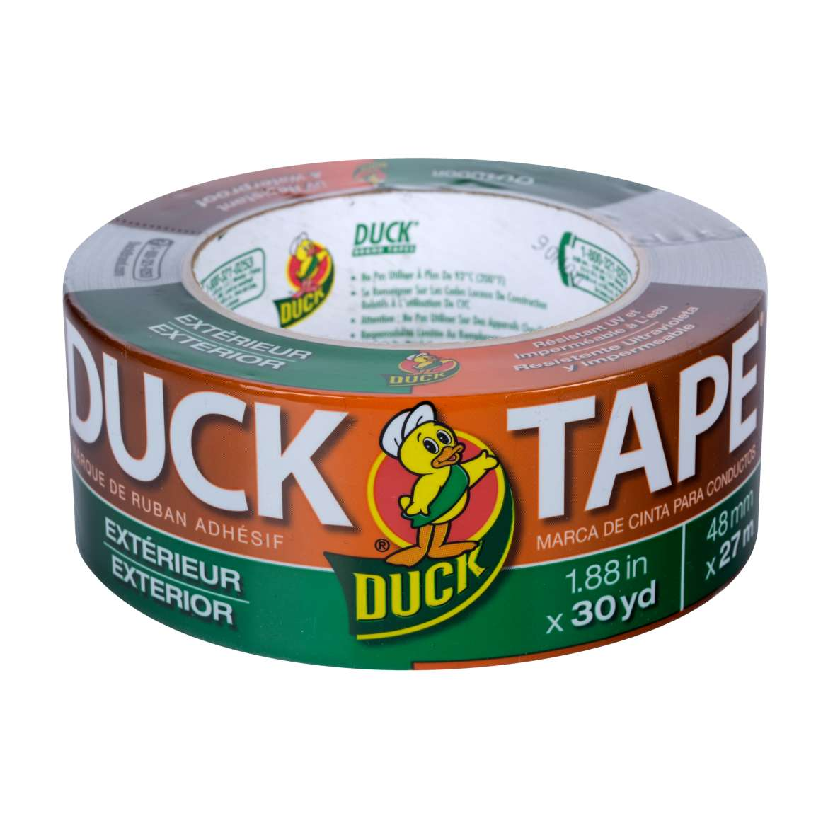 Duck Brand Outdoor Duct Tape, 1.88 in. x 30 yds., Silver