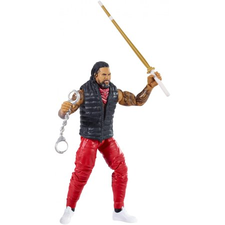 WWE Elite Collection Jey Uso Action Figure with Accessories (Wwe The Usos Action Figures)