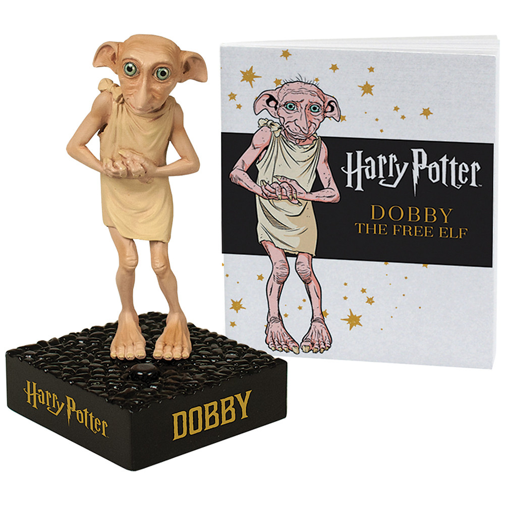 Collectible Harry Potter Talking Dobby & Picture Booklet - Speaks 6 Phrases