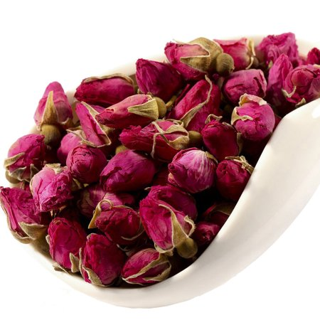 Red Rose Tea - Rose Tea - Chinese Tea - Herbal - Flower Tea - Decaffeinated - Loose Leaf Tea - (Famille Rose Tea)