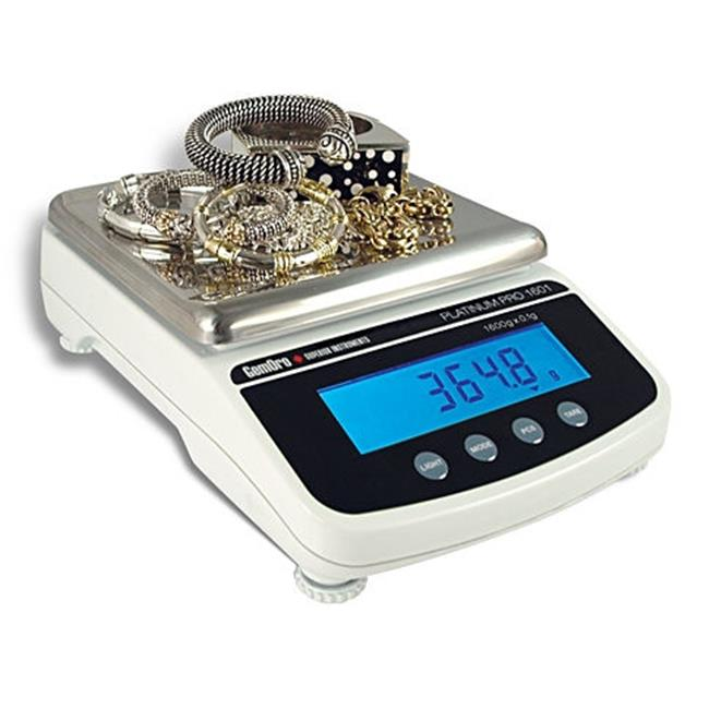 Gemoro 9751 1600g x 0.1g Platinum Protector 1601 Scale