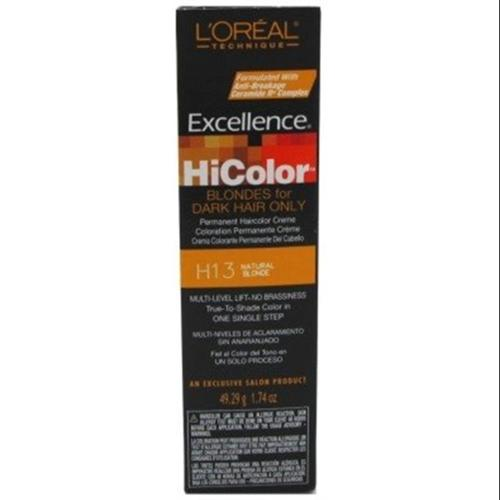 L'Oreal Excellence HiColor Natural Blonde, 1.74 oz (Pack of 3)
