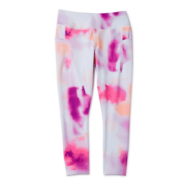 Avia - Avia Little & Big Girls' Printed Active leggings with side pockets -  Walmart.com - Walmart.com