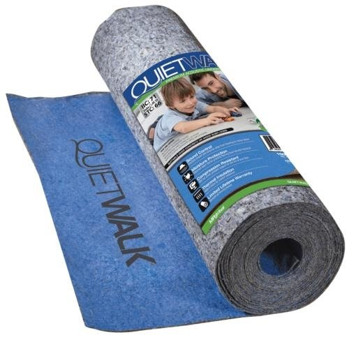 MP Global Products QuietWalk 360 Sq Ft Acoustical Underlayment with Built-in Vapor Barrier for Laminate Flooring