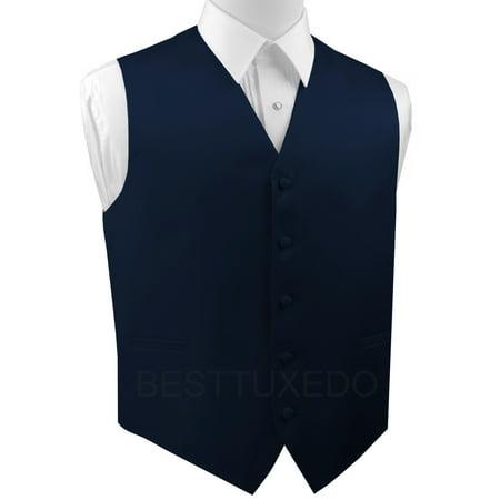 Formal Tank - Italian Design, Men's Formal Tuxedo Vest for Prom, Wedding, Cruise , in Navy