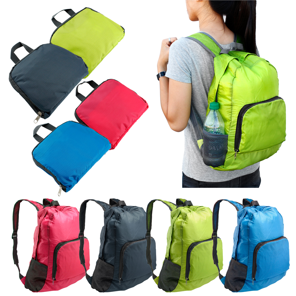 Foldable Lightweight Waterproof Travel Backpack Hiking Bag Outdoor Camping Sports Hiking Folding Pack