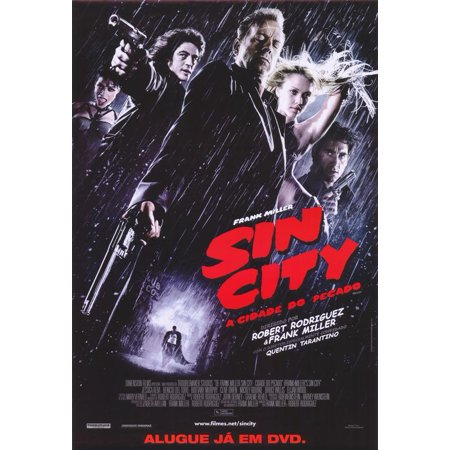 Sin City  2005  11X17 Movie Poster  Brazilian