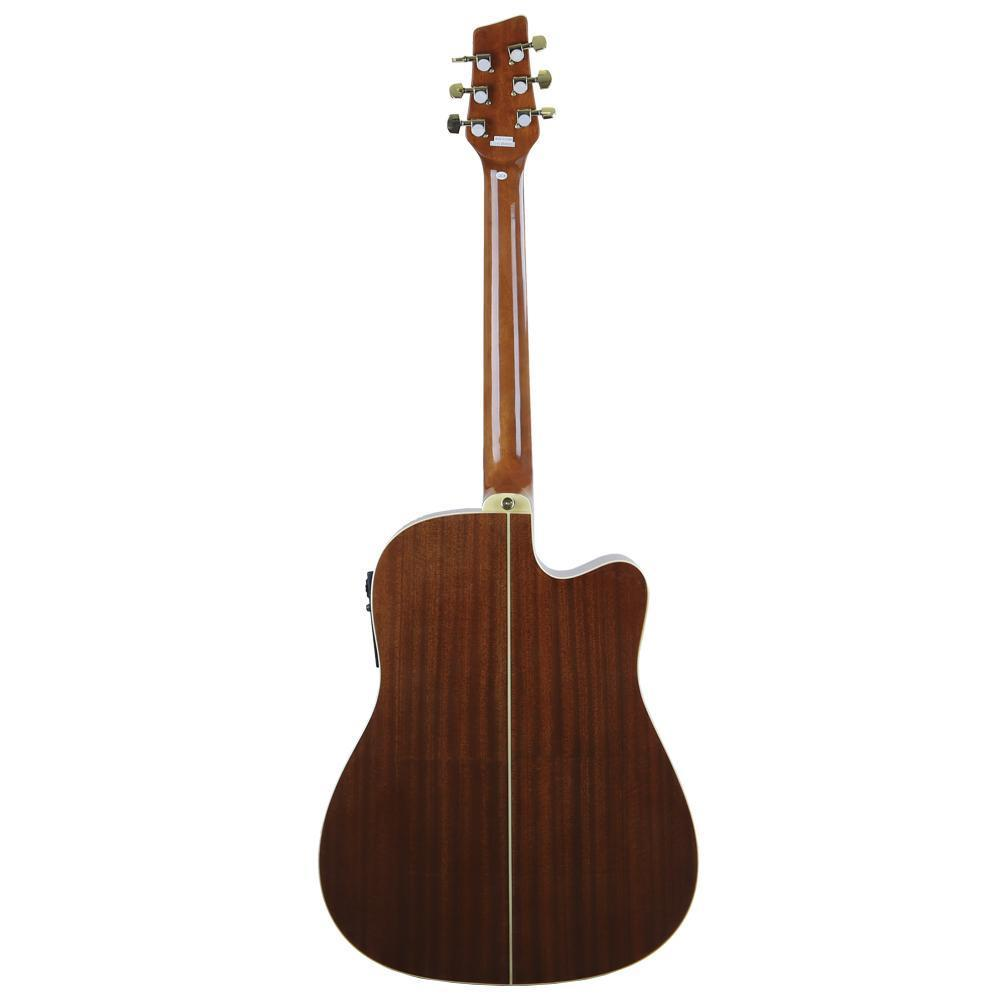 New Kona K1EL 6-String Dreadnought Cutaway Acoustic Electric Guitar Left Handed