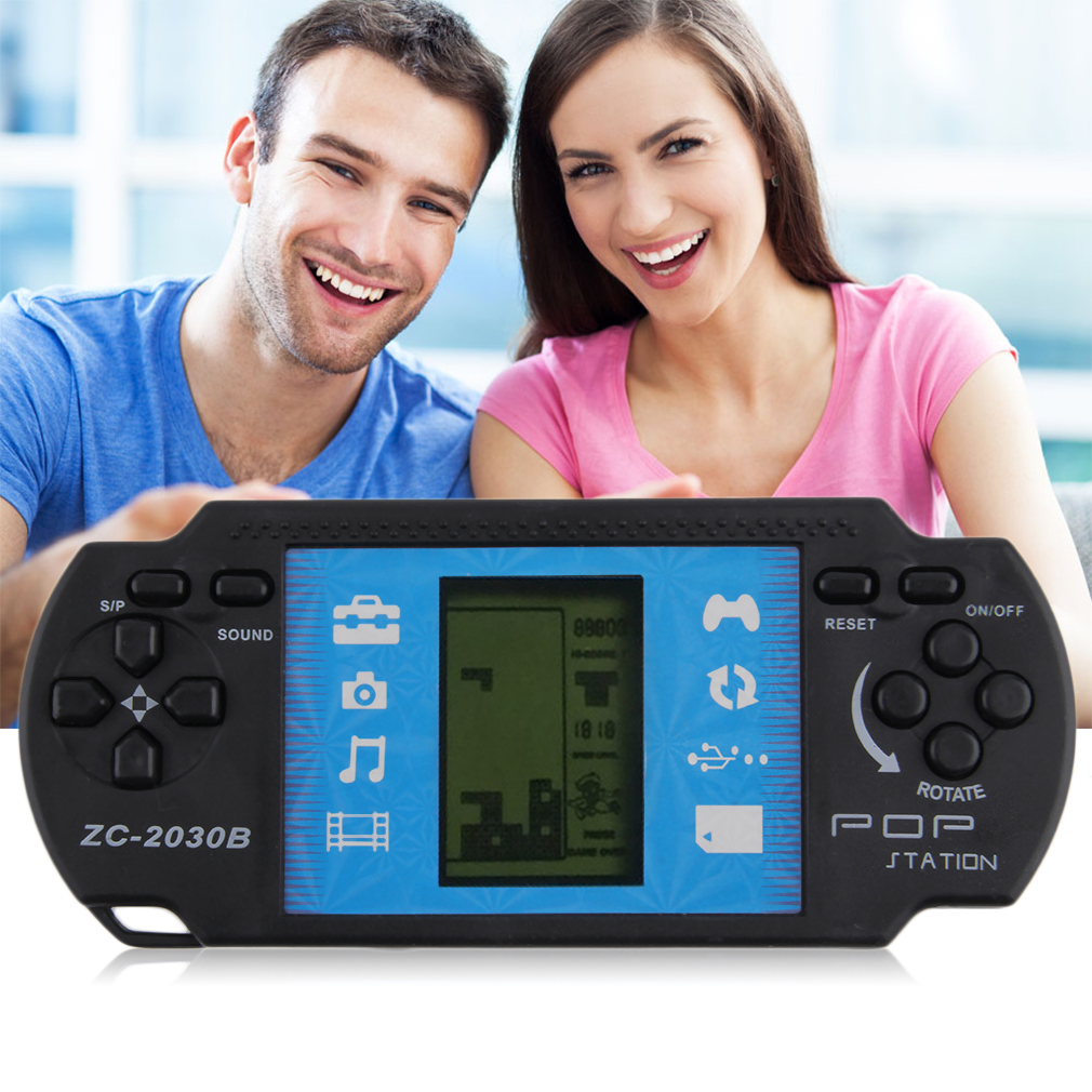 Kids Children Handheld Game Console Portable Video Tetris For PSP Gaming