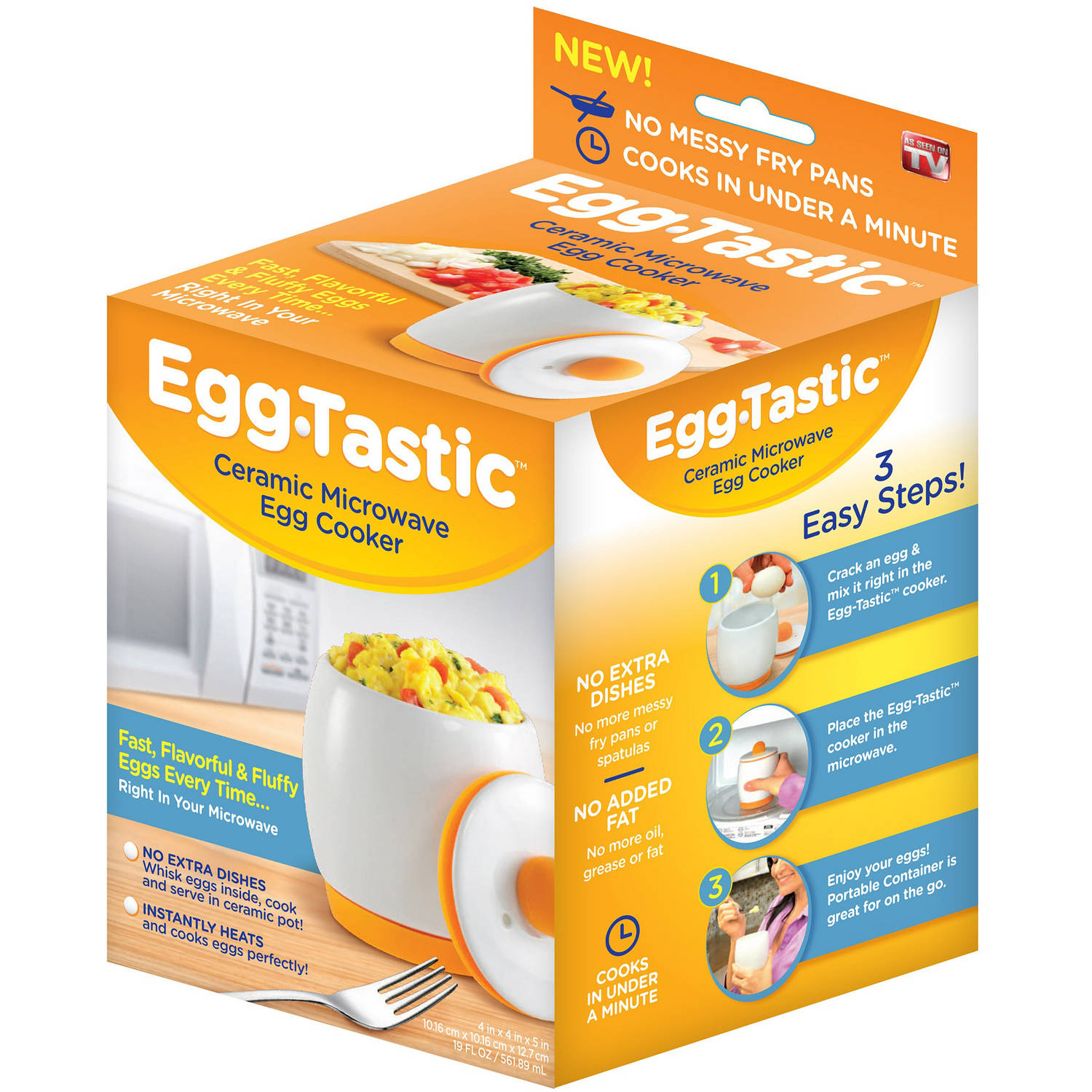 As Seen on TV Egg-Tastic Egg Cooker
