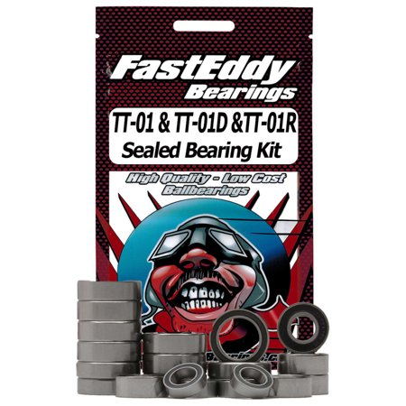 FastEddy Bearings Sealed Bearing Kit: Tamiya TT-01 Chassis, TFE1389