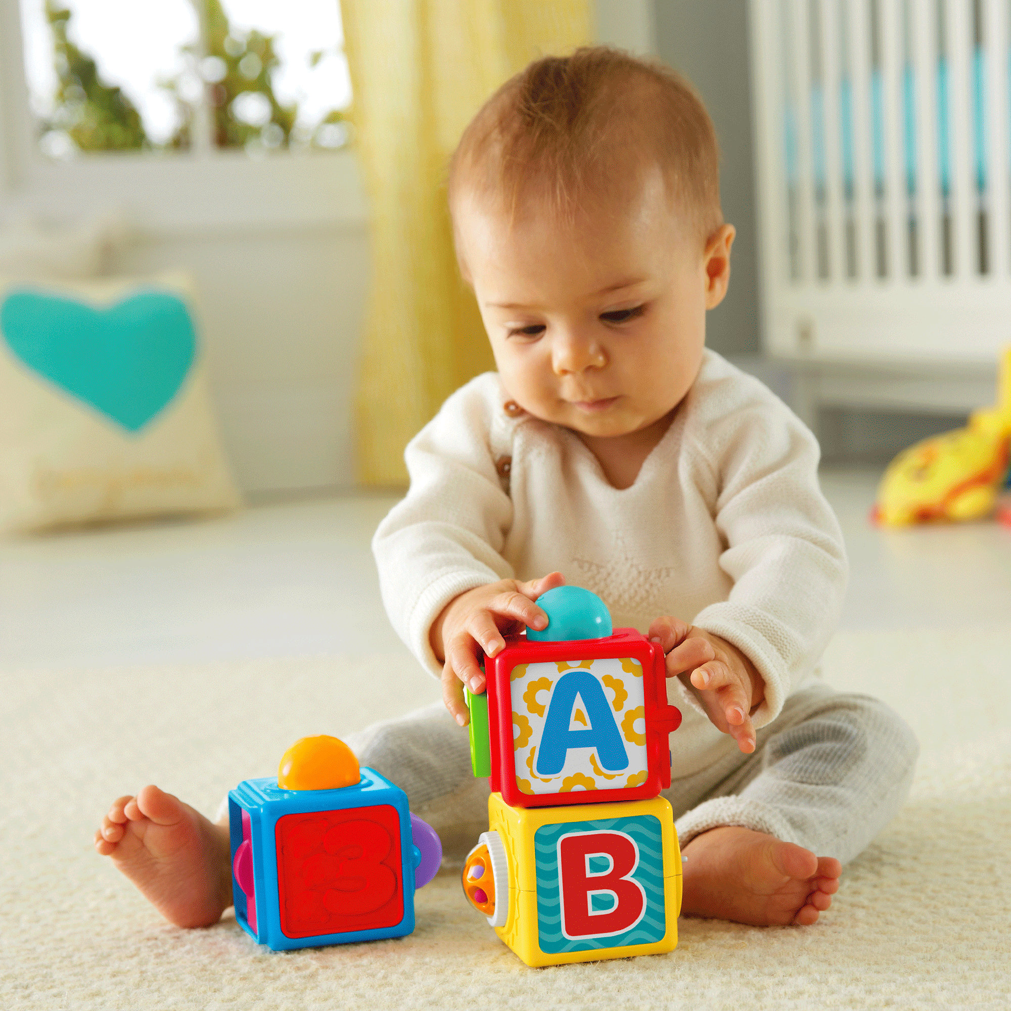 Fisher Price Stacking Action Blocks by Fisher-Price