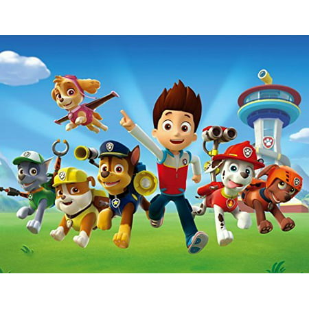 Paw Patrol Edible Image Photo Cake Topper Sheet Birthday Party - 1/4 Sheet - 78844