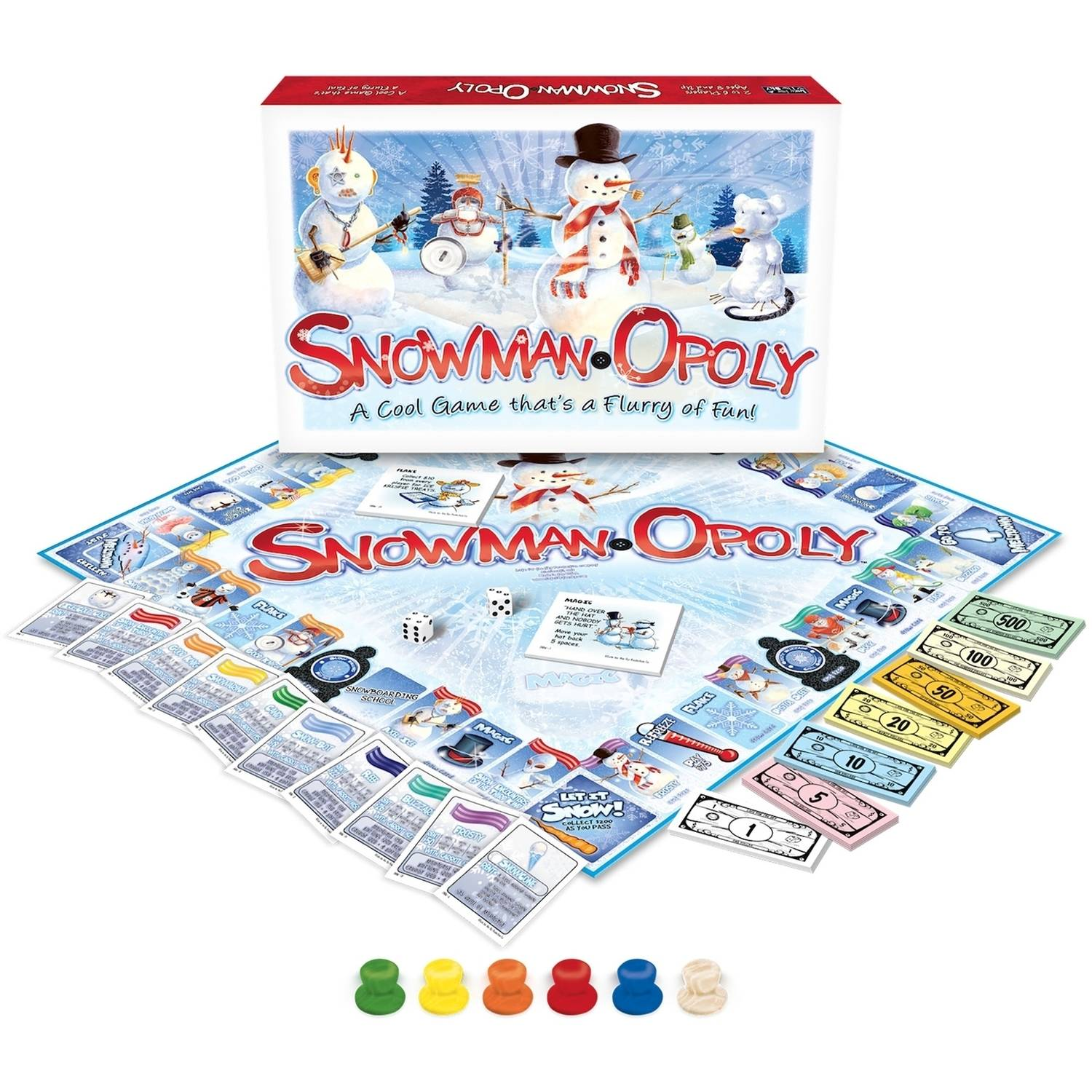 Late for the Sky Snowman-opoly Game