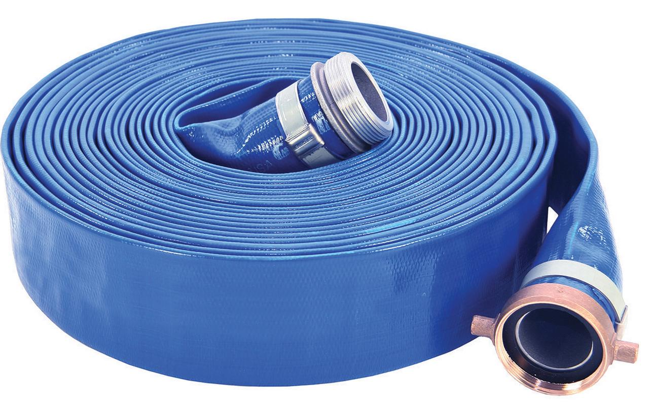 ABBOTT RUBBER 1147-2000-50-FN Pump Discharge Hose, 2 in x 50 ft, Female NPSH Threaded... by Capital Rubber