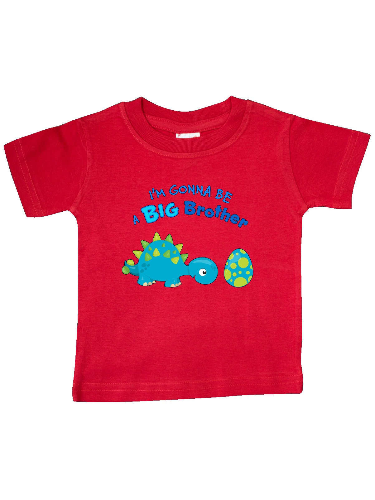 Happy Dinosaur Future Big Brother Baby T-Shirt