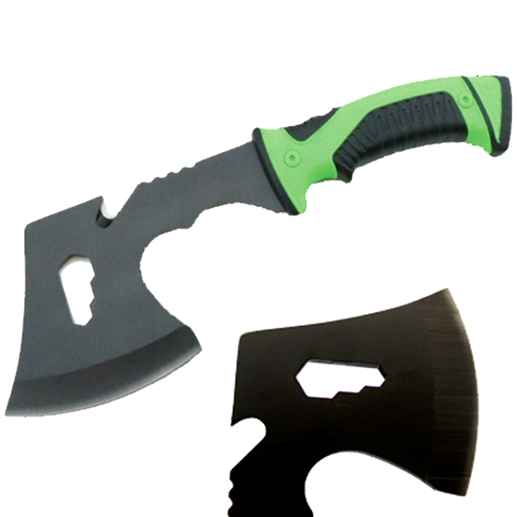 "Defender Camping Steel Hunting Tactical Survival 11"" Steel Axe with Nylon Sheath"