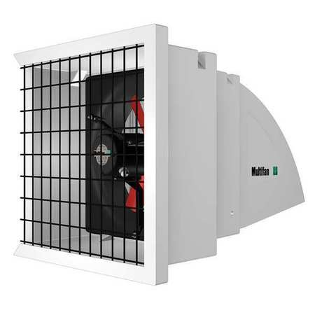 Direct Drive, Assembled, Adjustable Speed Exhaust Fan, Multifan, 12 SYS1-K-120V