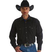 Men's George Strait Troubadour Long Sleeve Shirt - Mgs80bk