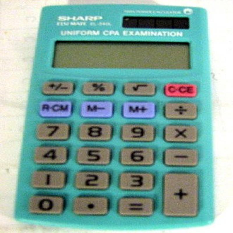 Elsi Mate Uniform CPA Examination Calculator