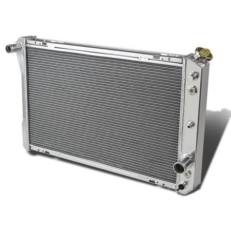 88 Chevrolet Blazer Radiator - For 1982 to 1992 Chevrolet Camaro Full Aluminum 3 -Row Racing Radiator 3 Gen 83 84 85 86 87 88 89 90 91
