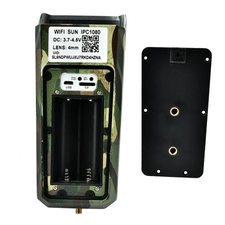 Domqga Solar Camera, Security Camera, 1080P HD Solar Wifi Camera Outdoor Wireless Security Camera Camouflage - image 9 of 11