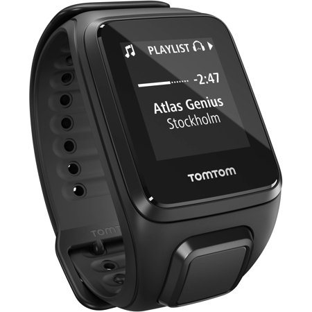 TomTom Spark Music GPS Watch - Wrist - Motion Sensor, Accelerometer, Gyro