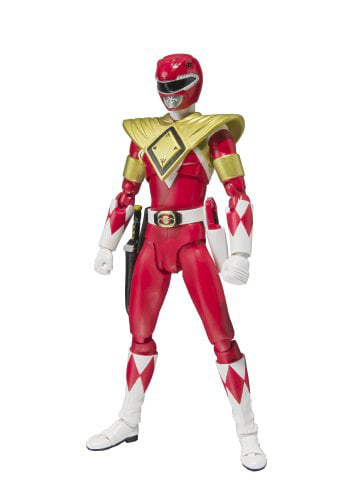 "Bandai Tamashii Nations S.H. Figuarts Armored Red Ranger ""Mighty Morphin Power Rangers"" Action... by Bluefin Distribution Toys"