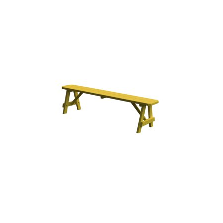 8 Foot Traditional Wooden Bench