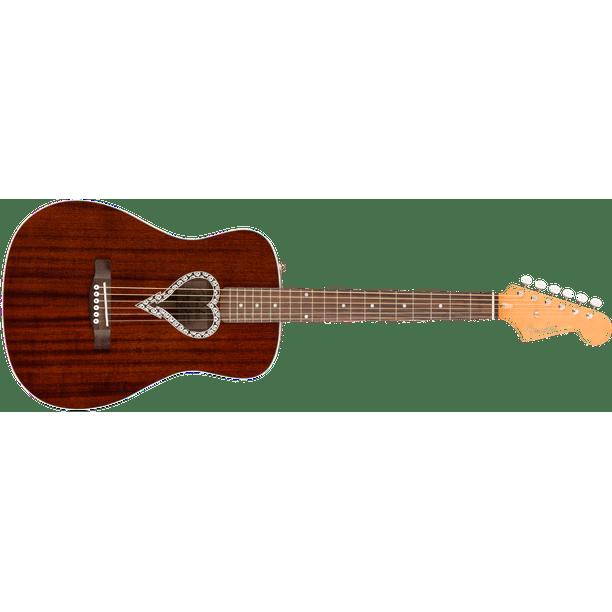 Fender Alkaline Trio Malibu Acoustic Guitar Very Good for