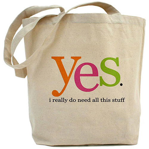 CafePress Yes I Do Tote Bag