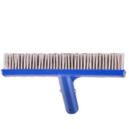Homeholiday 10 inch Steel Wire Swimming Pool Brush Moss Algae Cleaning Tool Wide Pond Spa Hot Spring Pools Cleaner Brush - image 6 de 8