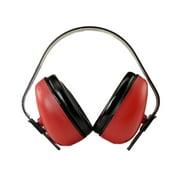 RADIANS DEF-GUARD EARMUFFS NRR 23DB RED/BLACK