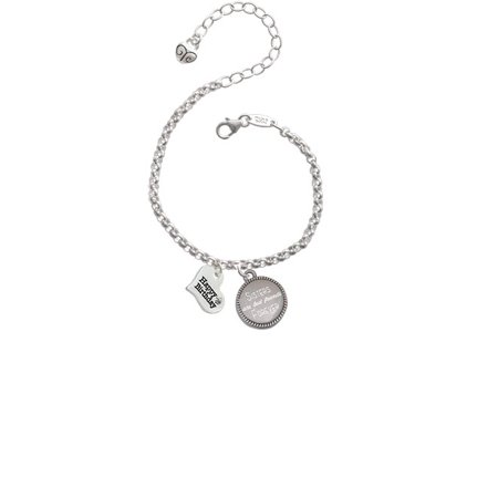Silvertone Small Happy Birthday Heart Sisters Are Best Friends Forever Engraved