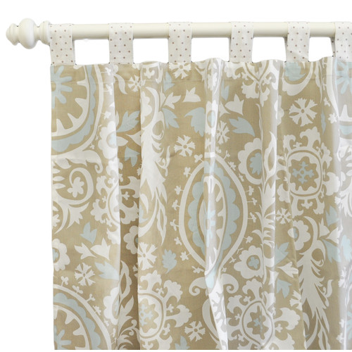 New Arrivals Curtain Panels, Picket Fence