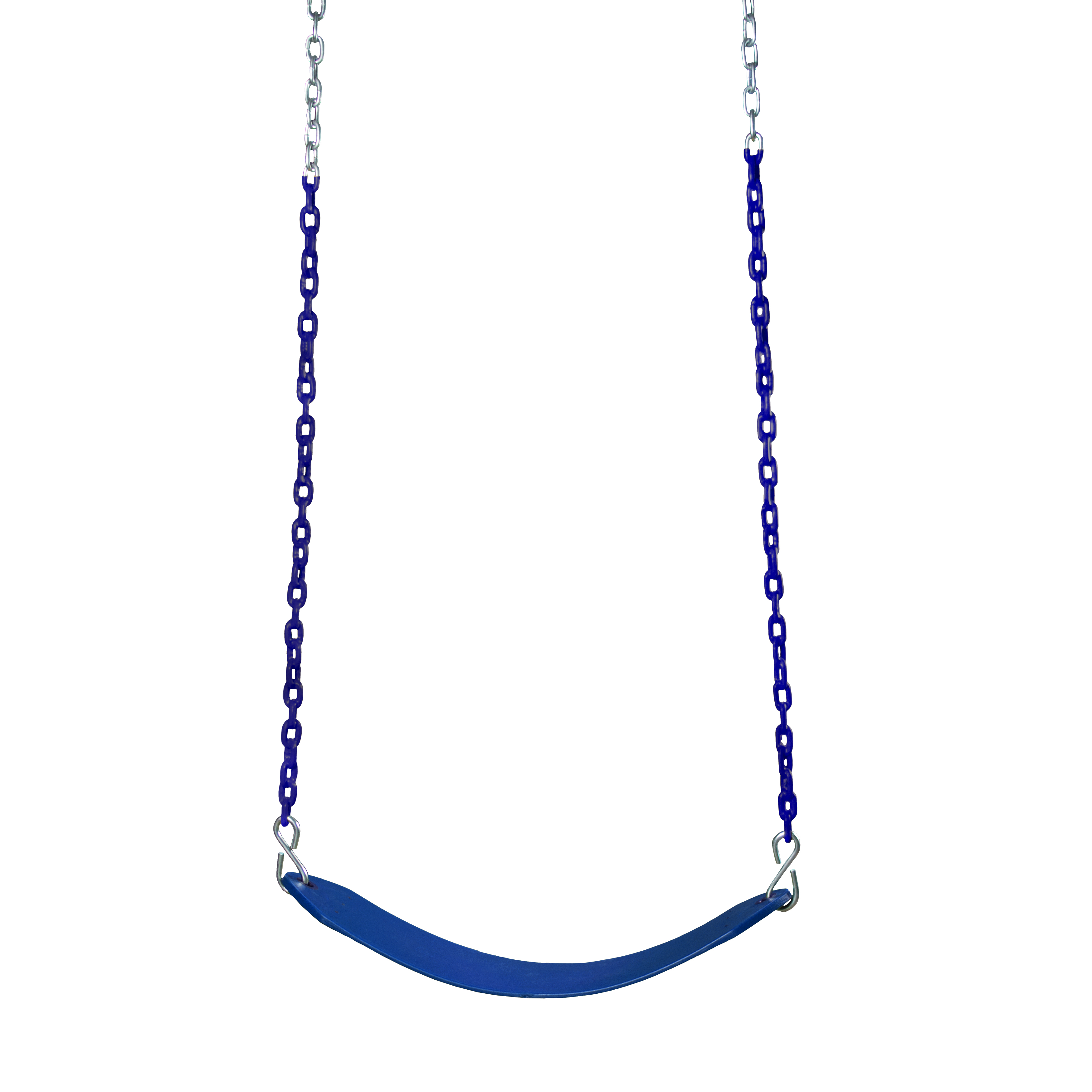 Gorilla Playsets Deluxe Blue Swing Belt with Blue Chains
