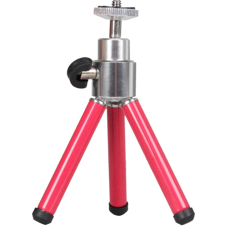 Pink Metal Mini Tabletop Tripod