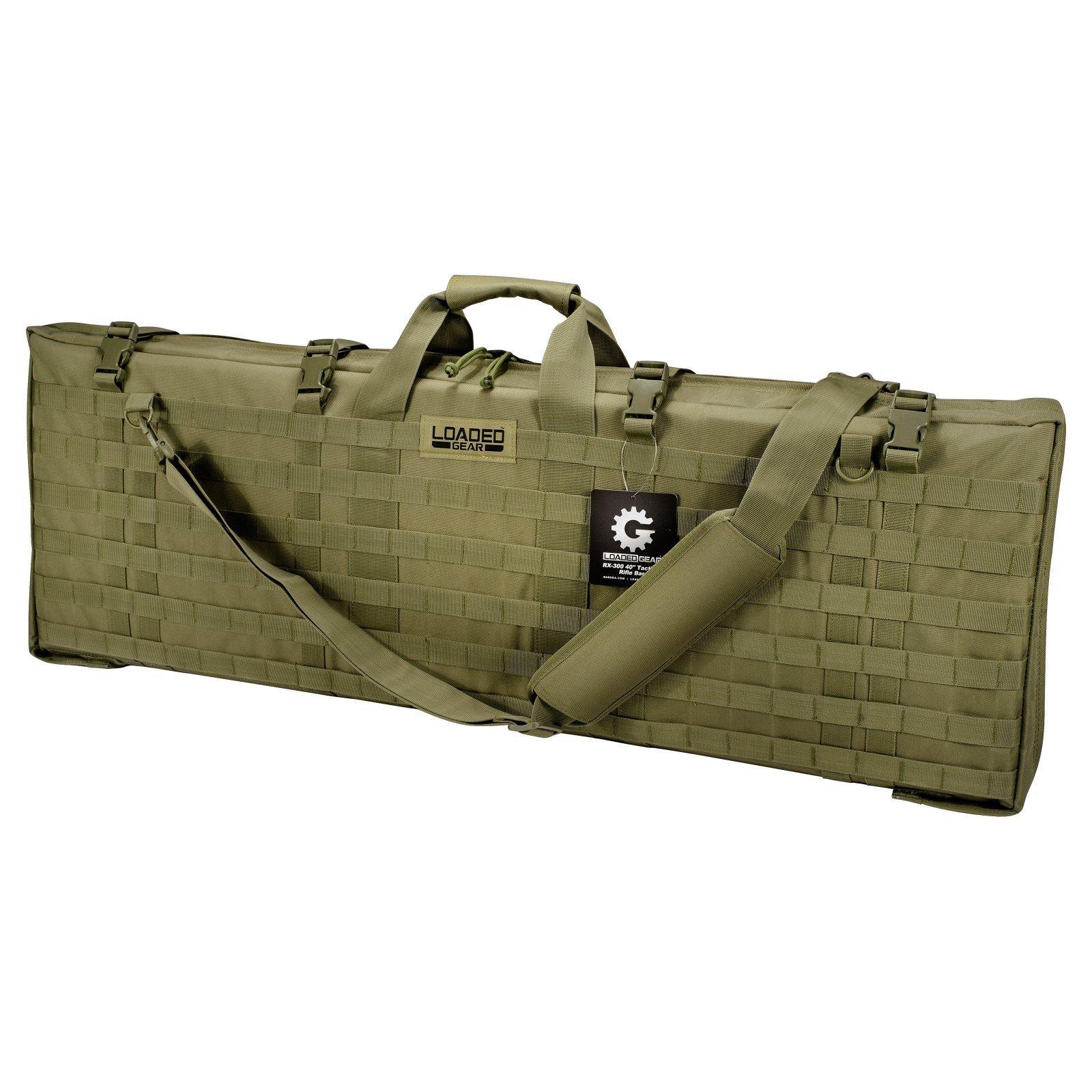 "Barska Optics Loaded Gear RX-300 40"" Tactical Rifle Bag, Green"